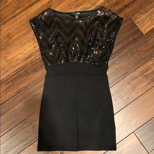 NWT h&m mini sequined dress